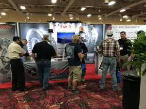 WTUI 2017 Salesmen Booth Picture