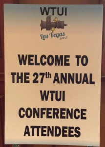 WTUI 2017 Welcome Sign Picture