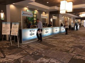 WTUI 2018 REGISTRATION DESK PICTURE