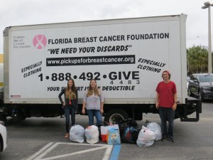 Florida Breast Cancer Foundation donation picture 2